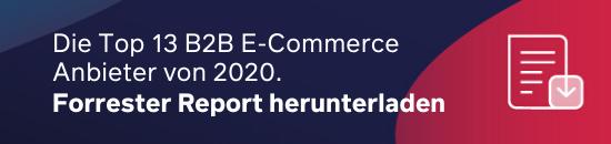 Top 13 B2B E-Commerce Anbieter 2020