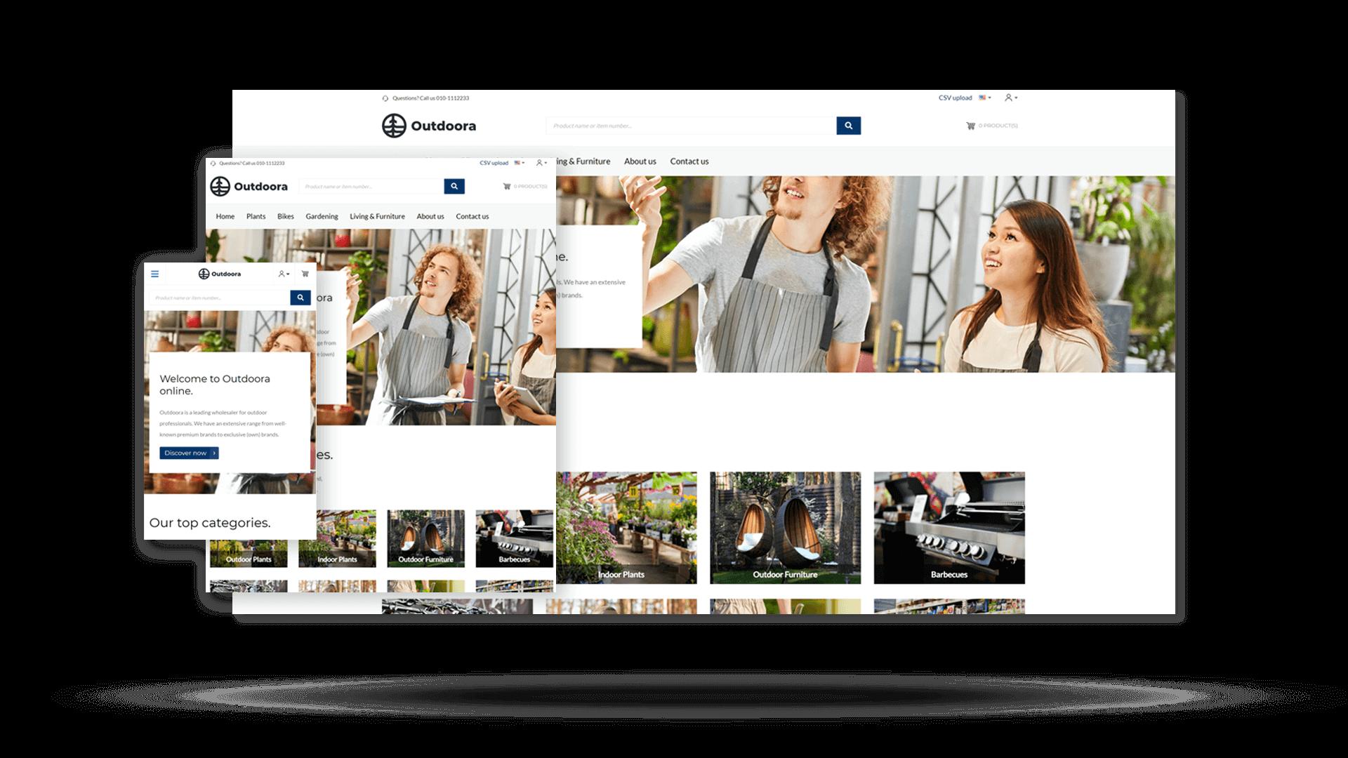 Sana Commerce Cloud Webshop bietet Funktionen an, um Smart Content einzusetzen