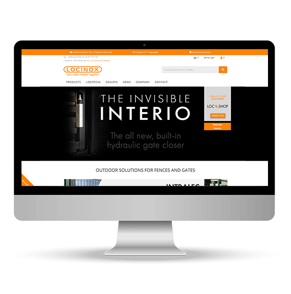 Construction webstore