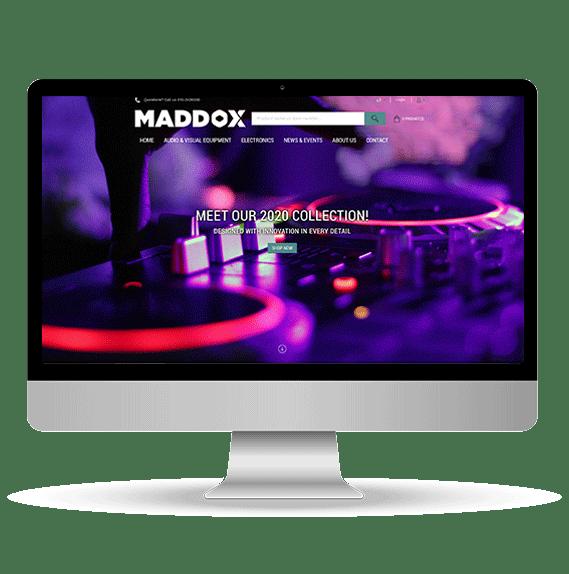 Electronics webstore