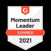 G2 Momentum Leader Summer 2021