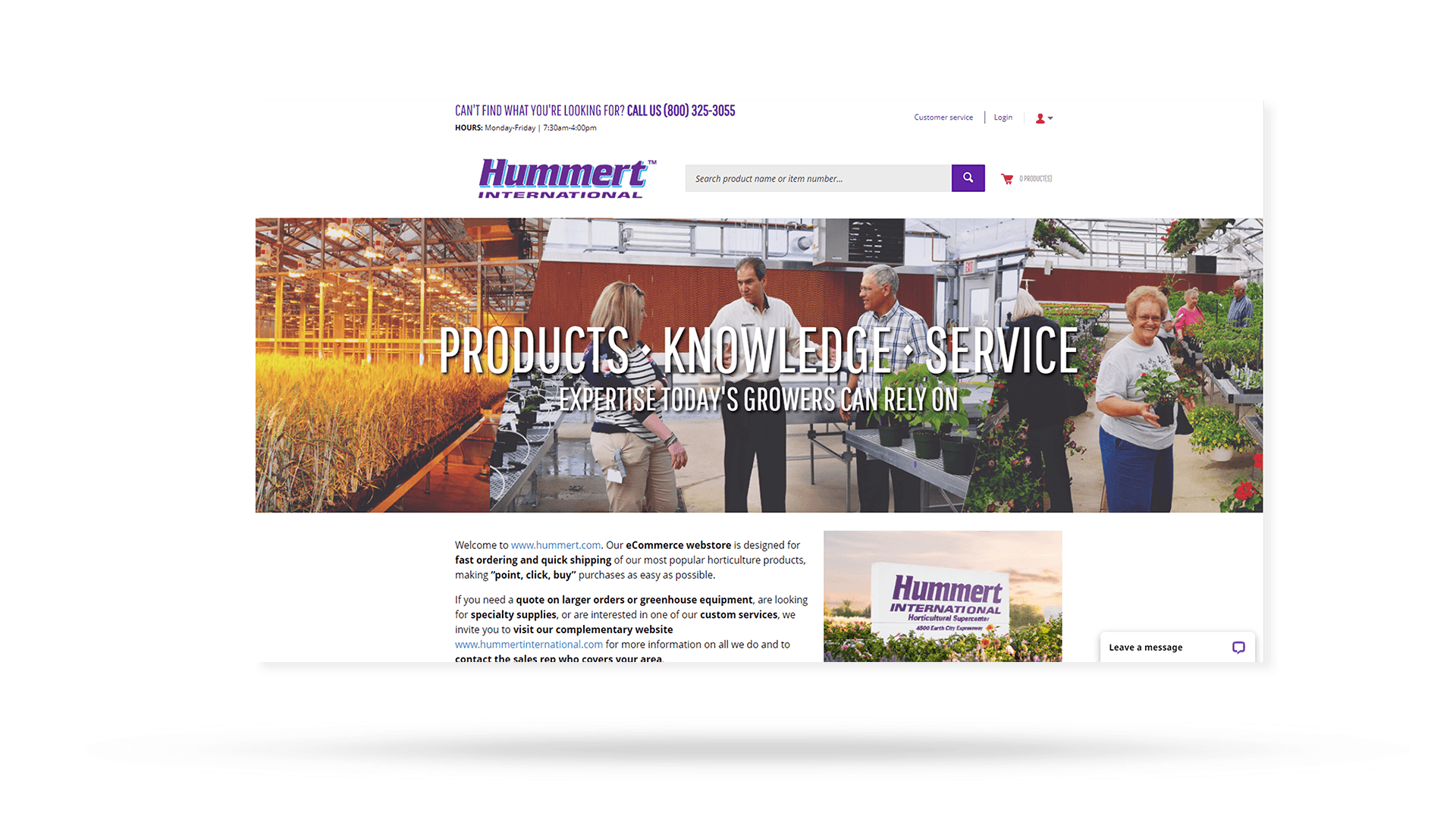 Hummert International Web