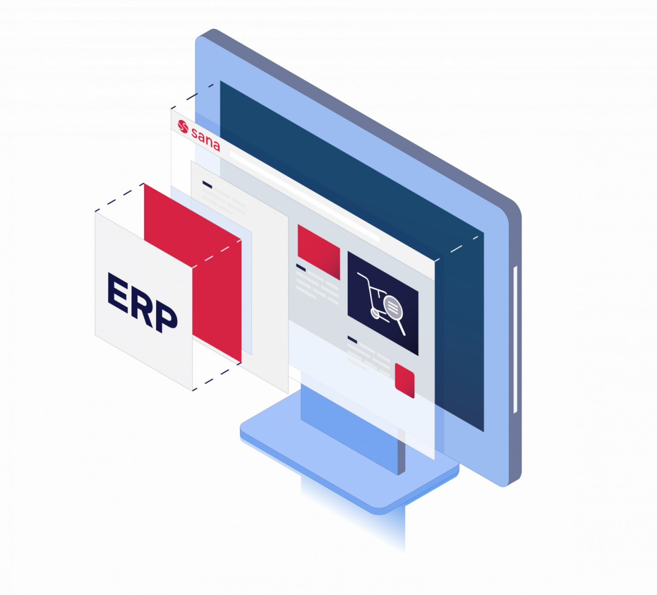 Auftragsabwicklung optimieren Tipp 2: Systeme & Prozesse integrieren – Schnittstellen minimieren