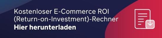 Kostenloser E-Commerce ROI-Rechner