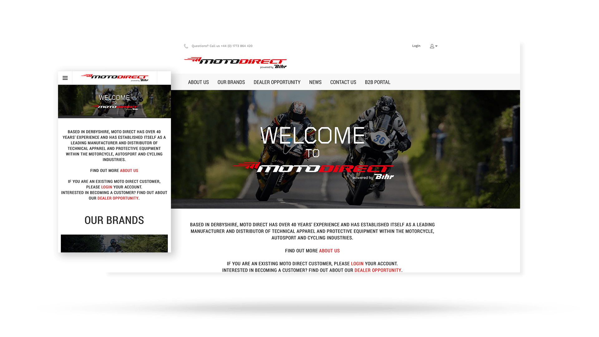 Moto Direct Web