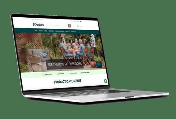 Outdoor webshop