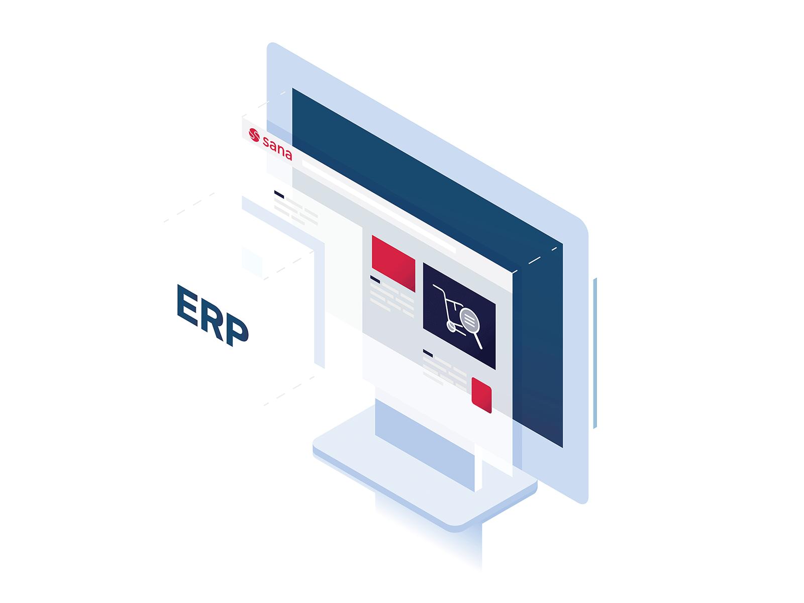 ERP integratie Sana Commerce
