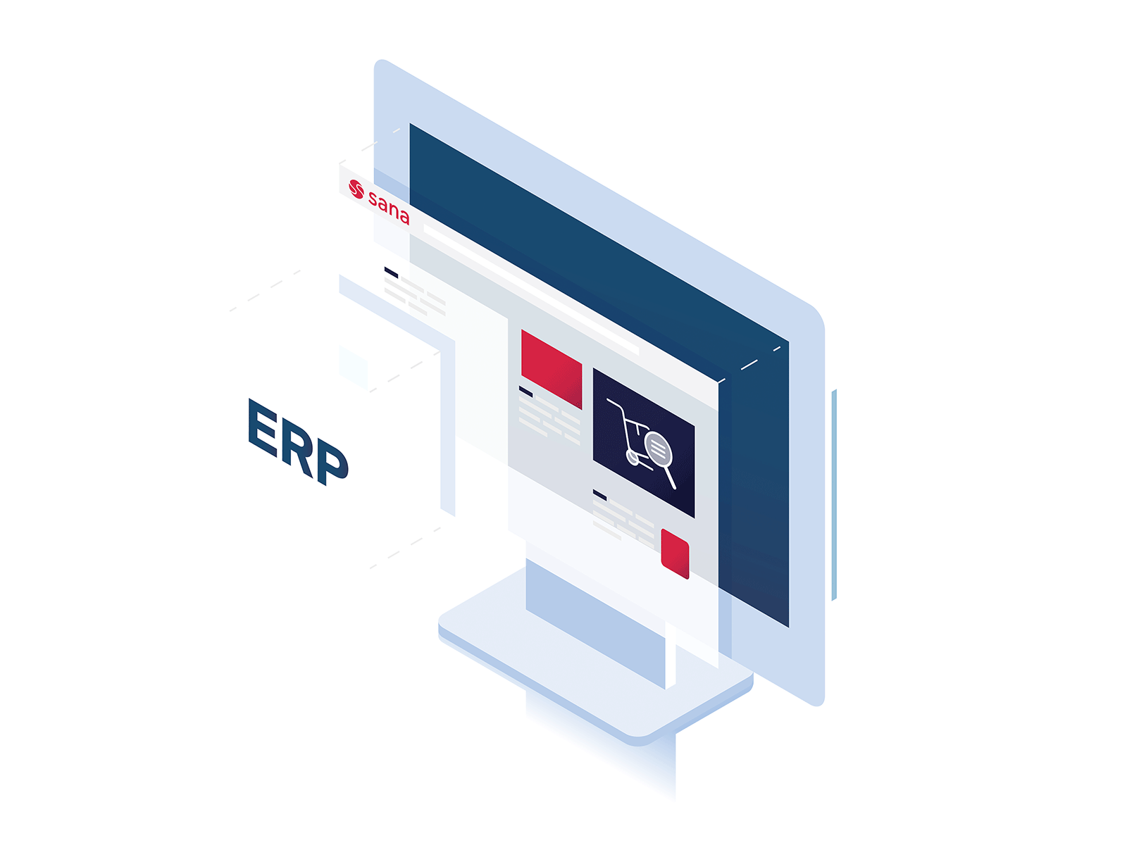 Sana Commerce product illustration