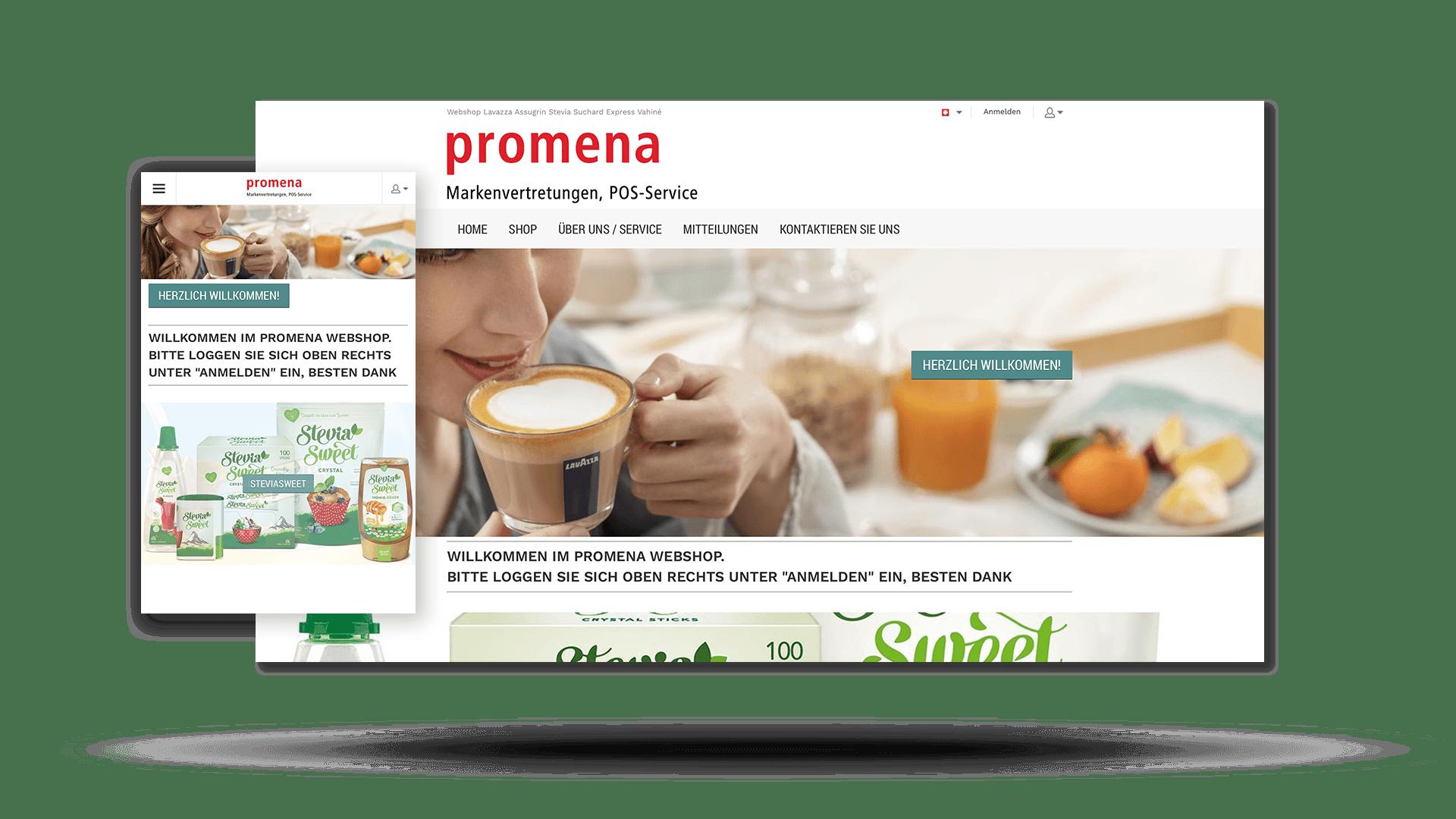 Promena Webshop