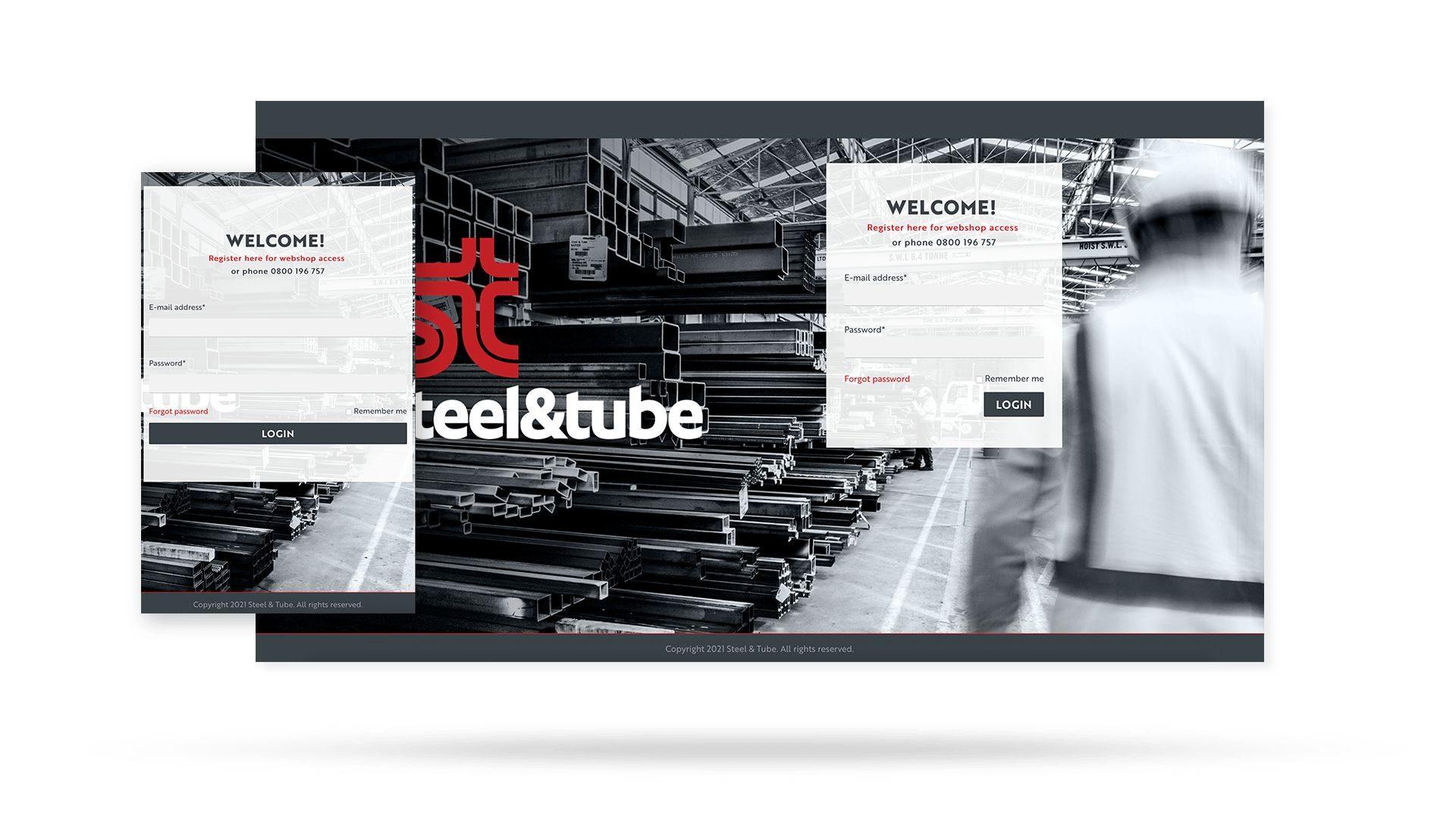 Steel & Tube's new Sana Commerce web store