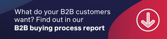 Download the B2B buying process report