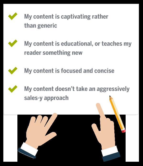 Sana - Quality Content Checklist