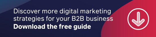 Download the free marketing guide for B2B business