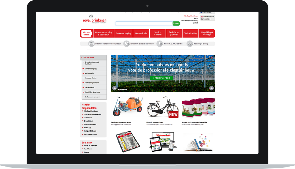 Web store customer segmentation and knowledge base