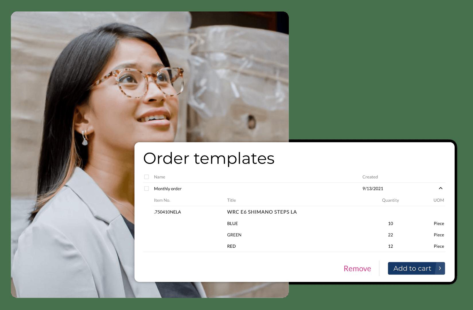 Facilita los pedidos y las devoluciones (RMA)